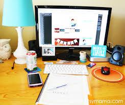 Computer Desk Organization Ideas Desk Organization Tips And Tricks Artsy Fartsy Mama