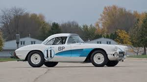 gulf car 1961 chevrolet corvette gulf race car s95 kissimmee 2012