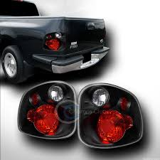 ford lightning tail lights euro black sport altezza tail lights lamps v2 2001 2003 f150