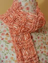 ribbon yarn stitch piece n purl