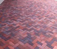 Herringbone Brick Patio Walmart Pavers Marvelous Boral Brick Extra Selections More