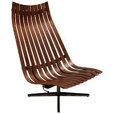 Modern Office Furniture Los Angeles 1960s U201cscandia U201d Swivel Lounge Chair In Rosewood By Hans Brattrud