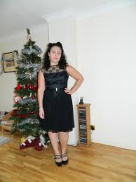christmas party vintage dress ethical fashion and
