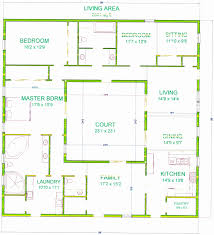 l shaped house floor plans l shaped house plans best of bedroom plan center courtyard house