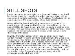 Lights And Camera Lyrics Music Video Assignment 2 Pro Forma