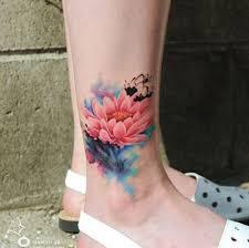 June Flower Tattoos - best 25 watercolor flower tattoos ideas only on pinterest