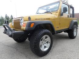 jeep wrangler lowered rare and original 2003 jeep wrangler rubicon 4 4 for sale
