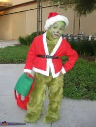 the grinch that stole costume idea for a child grinch