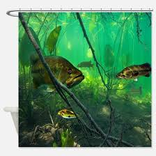 Fishing Shower Curtains Fishing Shower Curtains Cafepress