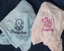 engraved blankets baby custom baby blanket etsy