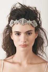 bridal headpieces bridal headpiece in silver kleinfeld bridal