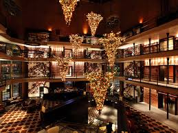 a few of the most decadent hotel christmas displays in america