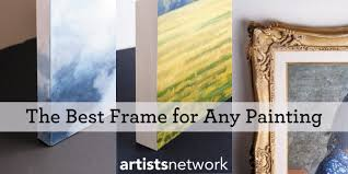 painting artwork on wood how to choose the best frame framing paintings