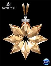 swarovski 2009 annual snowflake ornament z
