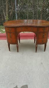 60 off vintage kidney shaped secretary desk by rockford peerless