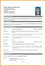 Best Resume Format For Engineering Students Resume Samples For Engineering Freshers Resume Format For