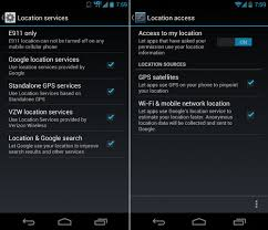 enable location services android how to enable gps and other location services beginners guide