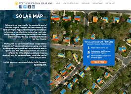 Map Of Northern Virginia Solarize Nova Reaches 1 Megawatt Of New Solar Leap The Local