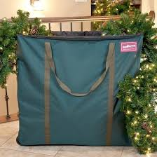 Christmas Ornament Storage On Wheels by Treekeeper Premium Christmas Village And Decor Multi Use Rolling