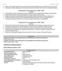 scrum master resume resume example language skills