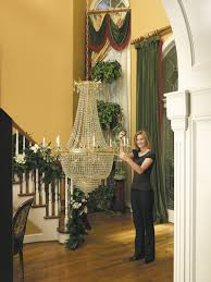 Chandeliers For Foyers Chandelier Photo Gallery Aladdin Light Lift