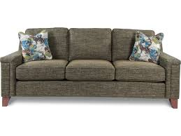 la z boy hazel contemporary sofa with comfort core cushion great
