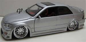 lexus is300 silver import racer lexus is 300 is300 1 24 silver cars toys ebay