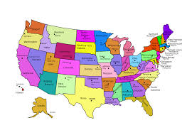 Map Of Ne United States by