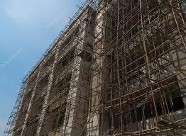 bauen mit bambus gerüst u2014 stockfoto 99231696