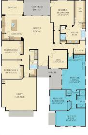 floor plan for new homes next the home within a home by lennar