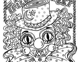 halloween coloring pages chubbymermaid etsy