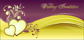 Designs For Invitation Cards Free Download Wedding Invitation Background Designs Free Download Yellow