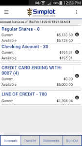 simplot employees credit union mobile banking android apps on