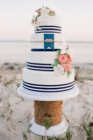 nautical themed wedding cakes nautical wedding cake archives southern weddings