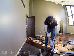 Hardwood Floor Nail Gun Installing Hardwood Floors In Our Master Bedroom Part 1