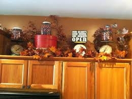 how to decorate above kitchen cabinets for fall kitchen cabinet tops decorating ideas house