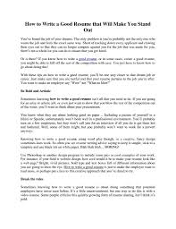 Tips For A Great Resumes Vibrant Creative How To Build A Great Resume 8 A Great Resume Good