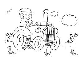 Old Macdonald Had A Farm Coloring Page Free Download Farm Color Page