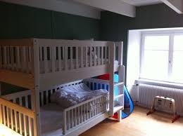 chambre lit superposé location maison à locquirec etage 1 chambre 2 lits superposés
