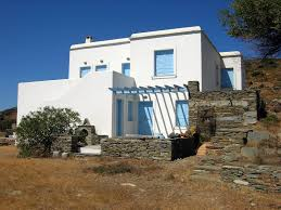 moustakas n s architects country house in batsi andros island