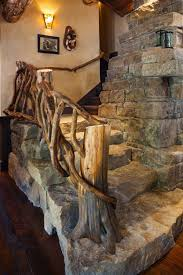 Wooden Material Element Modern Interior Staircase Materials Photo