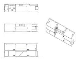 Row House In Sumiyoshi - courtyard house designs