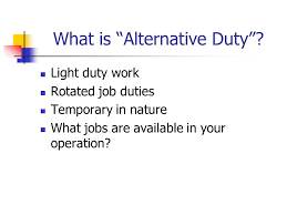 what is light duty work leveraging your broker agent insurance carrier to reduce insurance