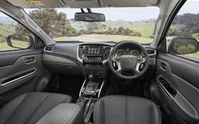 mitsubishi suv 2016 interior 2018 mitsubishi triton rumors interior exterior engine design