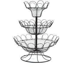 fruit basket stand tiered fruit basket three tiered fruit baskets three tier fruit