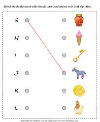 all worksheets kindergarten matching worksheets printable