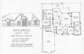 2201 2800sq feet 3 bedroom house plans