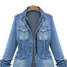 light blue cropped jean jacket qsc short denim jakcets cropped jean jacket light blue casual slim