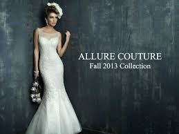 wedding dresses allure couture fall 2013 collection aisle perfect