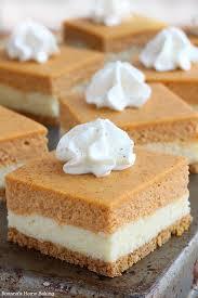pumpkin cheesecake bars recipe pumpkin cheesecake bars